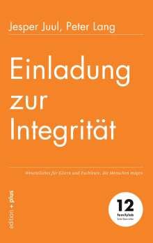 Jesper Juul: Einladung zur Integrität, Buch