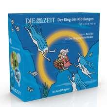 Die Zeit - Der Ring des Nibelungen für kleine Hörer (Hörspiel mit Musik), 6 CDs
