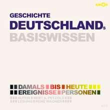 Geschichte Deutschlands-Basiswissen, 2 CDs