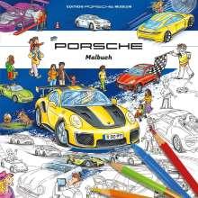 Porsche Malbuch für Kinder, Buch
