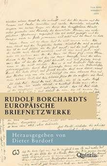 Rudolf Borchardts europäische Briefnetzwerke, Buch