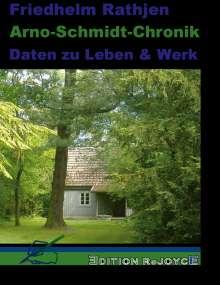 Friedhelm Rathjen: Arno-Schmidt-Chronik, Buch
