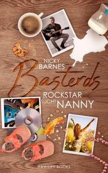 Nicky Barnes: Basterds: Rockstar sucht Nanny, Buch