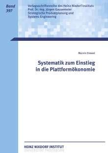 Marvin Drewel: Systematik zum Einstieg in die Plattformökonomie, Buch