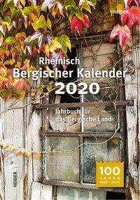 Rheinisch Bergischer Kalender 2020, Buch
