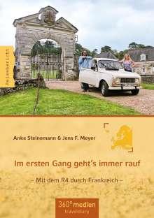 Anke Steinemann: Im ersten Gang geht´s immer rauf, Buch