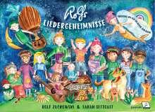 Sarah Settgast: Rolfs Liedergeheimnisse, Buch