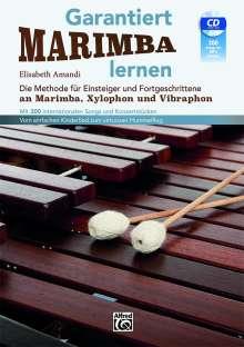 Elisabeth Amandi: Garantiert Marimba lernen mit CD, 2 Bücher