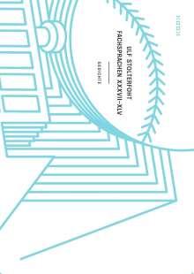 Ulf Stolterfoht: fachsprachen XLVI-LIV, Buch
