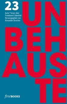 Friedrich Ani: Unbehauste 1, Buch