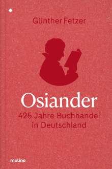 Fetzer Günther: Osiander, Buch