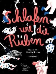 Finn-Ole Heinrich: Schlafen wie die Rüben, Buch