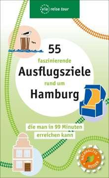 Nadia Al Kureischi: 55 faszinierende Ausflugsziele rund um Hamburg, Buch