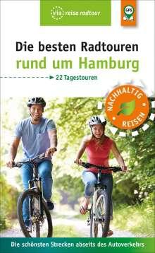 Sabine Schrader: Die besten Radtouren rund um Hamburg, Buch