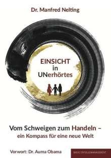 Manfred Nelting: EINSICHT in UNerhörtes, Buch