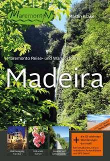 Martin Krake: Maremonto Reise- und Wanderführer: Madeira, Buch