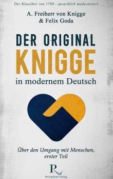Felix Goda: Der Original-Knigge in modernem Deutsch, Buch