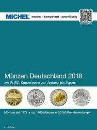 Michel Münzen Deutschland 2018 Buch Jpc