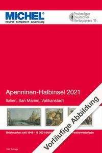 Apenninen-Halbinsel 2021, Buch