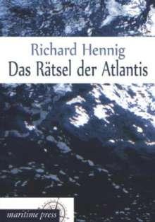 Richard Hennig: Das Rätsel der Atlantis, Buch