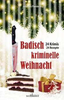 Lilo Beil: Badisch kriminelle Weihnacht, Buch