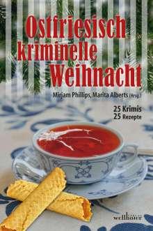 Gesa Schwarze-Stahn: Ostfriesisch kriminelle Weihnacht, Buch