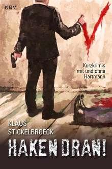 Klaus Stickelbroeck: Haken dran!, Buch
