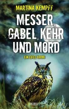 Martina Kempff: Messer, Gabel, Kehr und Mord, Buch