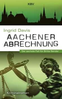 Ingrid Davis: Aachener Abrechnung, Buch