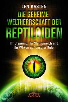 Len Kasten: Die geheime Weltherrschaft der Reptiloiden, Buch