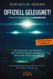 Steven M. Greer: Offiziell Geleugnet!, Buch