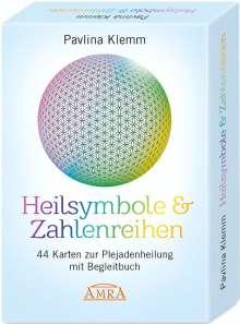 Pavlina Klemm: Heilsymbole & Zahlenreihen: 44 Karten zur Plejadenheilung mit Begleitbuch, Buch