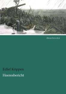 Edlef Köppen: Heeresbericht, Buch