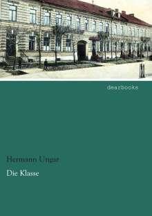Hermann Ungar: Die Klasse, Buch