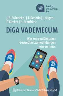 Jan B. Brönneke: DiGA VADEMECUM, Buch