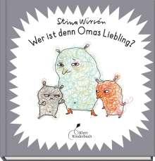 Stina Wirsén: Wer ist denn Omas Liebling?, Buch