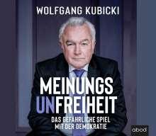 Wolfgang Kubicki: Meinungsunfreiheit, 4 CDs