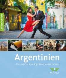 Meik Unterkötter: Argentinien, Buch