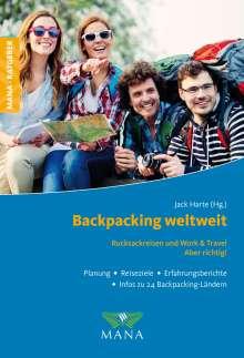 Jack Harte: Backpacking weltweit, Buch