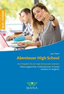 Jack Harte: Abenteuer High School, Buch