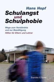 Hans Hopf: Schulangst und Schulphobie, Buch