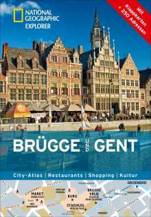 Hélène Le Tac: National Geographic Explorer Brügge und Gent, Buch