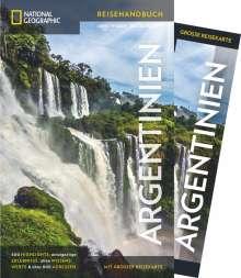 Meik Unterkötter: National Geographic Reiseführer Argentinien: Experten-Tipps für die Argentinien-Reise, um das Land zwischen Salta, Buenos Aires und Feuerland auf eigene Faust zu entdecken. Mit Faltkarte, Buch