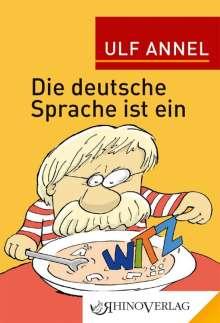 Ulf Annel: Die deutsche Sprache ist ein Witz, Buch