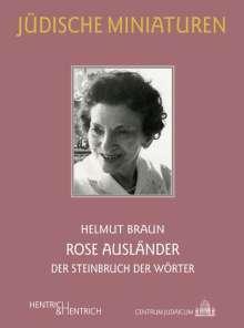 Helmut Braun: Rose Ausländer, Buch