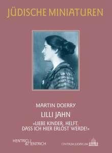 Martin Doerry: Lilli Jahn, Buch