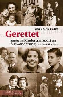 Eva-Maria Thüne: Gerettet, Buch