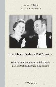 Anna Hájková: Die letzten Berliner Veit Simons, Buch