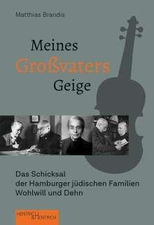 Matthias Brandis: Meines Großvaters Geige, Buch