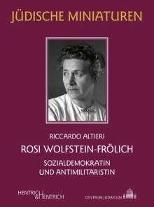 Riccardo Altieri: Rosi Wolfstein-Frölich, Buch